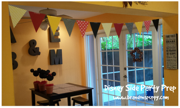 DisneySide Party Prep